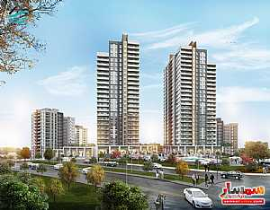Apartment 1 bedroom 1 bath 107 sqm super lux For Sale Bashakshehir Istanbul - 2