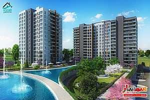 Apartment 1 bedroom 1 bath 107 sqm super lux For Sale Bashakshehir Istanbul - 3