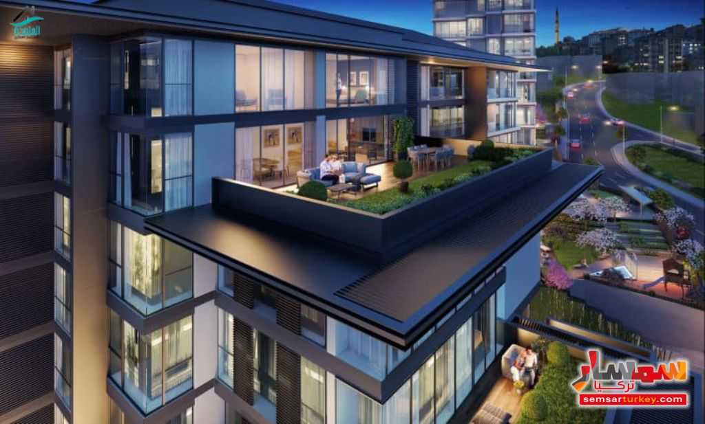 Photo 11 - Apartment 1 bedroom 1 bath 60 sqm super lux For Sale Eyup Istanbul