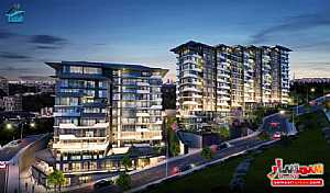 Apartment 1 bedroom 1 bath 60 sqm super lux For Sale Eyup Istanbul - 1