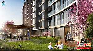 Apartment 1 bedroom 1 bath 60 sqm super lux For Sale Eyup Istanbul - 9