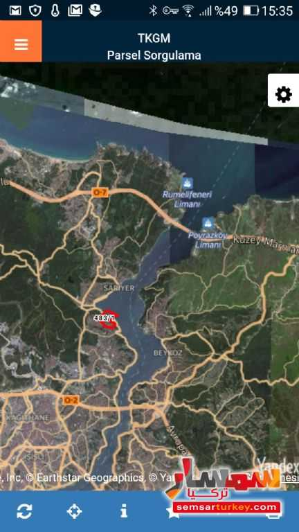 Ad Photo: Land 1100 sqft in Sariyer  Istanbul