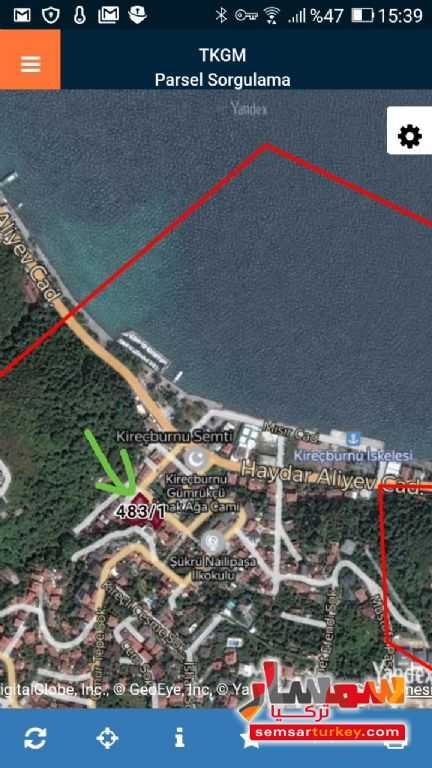 Photo 3 - Land 1,100 sqft For Sale Sariyer Istanbul