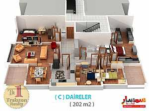 Apartment 4 bedrooms 3 baths 220 sqm lux For Sale yomra Trabzon - 3
