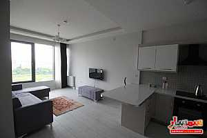 Apartment 1 bedroom 1 bath 75 sqm lux For Rent Bashakshehir Istanbul - 24