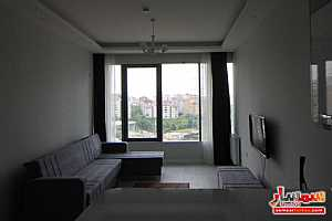 Apartment 1 bedroom 1 bath 75 sqm lux For Rent Bashakshehir Istanbul - 25