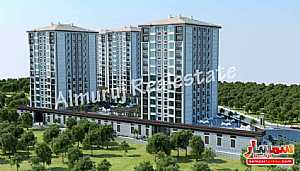 3 bedrooms 2 baths 125 sqm super lux For Sale Esenyurt Istanbul - 3