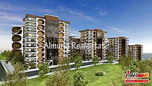 Ad Photo: Apartment 1 bedroom 1 bath 87 sqm super lux in yomra Trabzon
