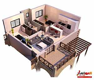 Apartment 2 bedrooms 1 bath 75 sqm super lux For Sale Famagusta - 7