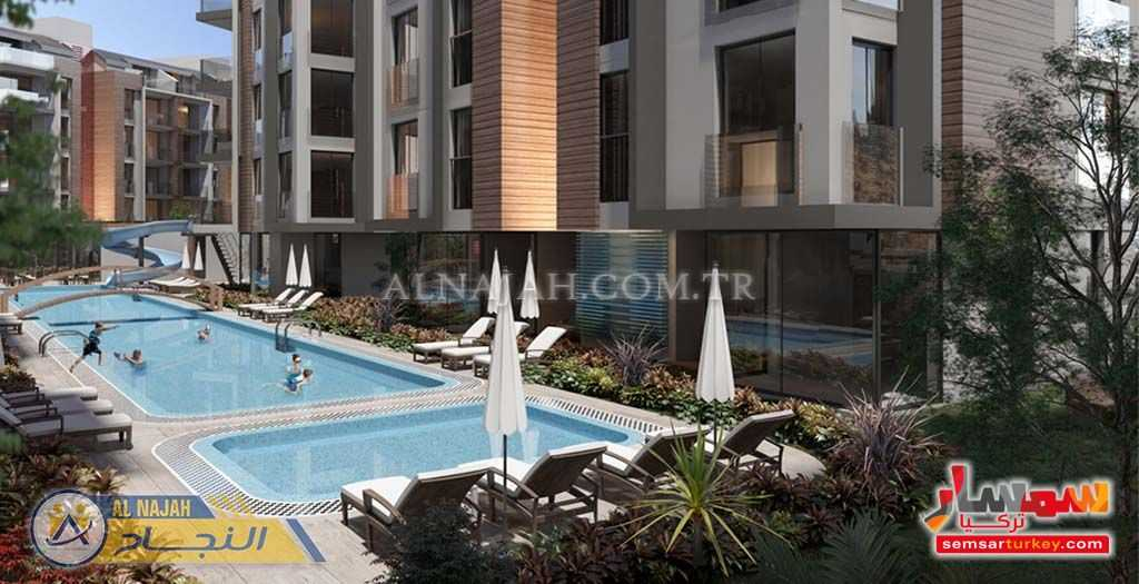 Photo 1 - Apartment 1 bedroom 1 bath 65 sqm super lux For Sale Konyaalti Antalya