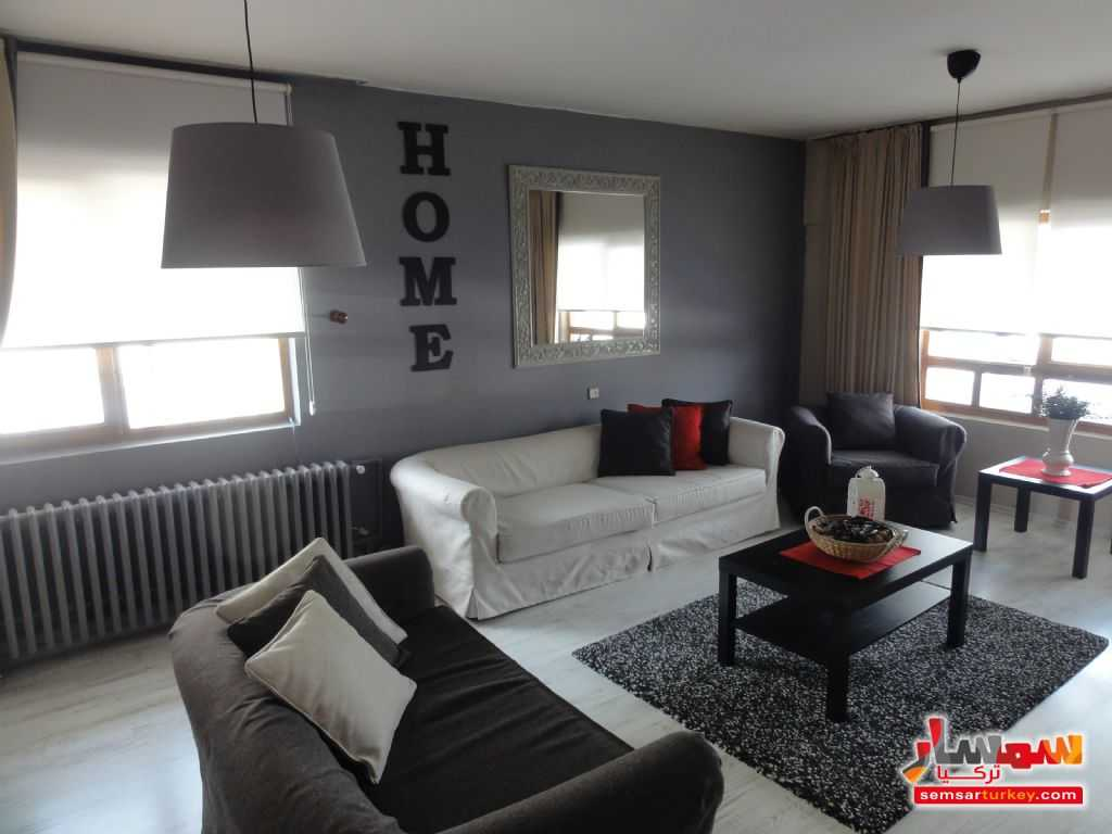 Photo 2 - Apartment 3 bedrooms 1 bath 85 sqm super lux For Rent Cankaya Ankara