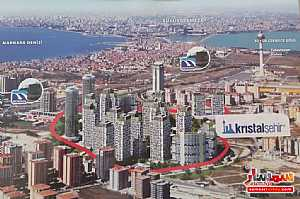 Apartment 3 bedrooms 2 baths 98 sqm semi finished For Sale Beylikduzu Istanbul - 5