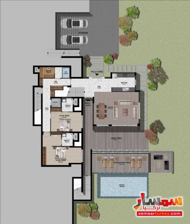 Photo 6 - Villa 5 bedrooms 6 baths 1,000 sqm extra super lux For Sale bodrum Mugla