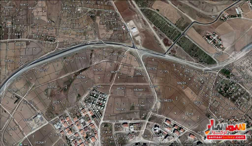 صورة 4 - 1485 SQM VİLLA LAND FOR SALE IN PURSAKLAR YOU CAN BUILT 3 VILLA ON IT للبيع بورصاكلار أنقرة