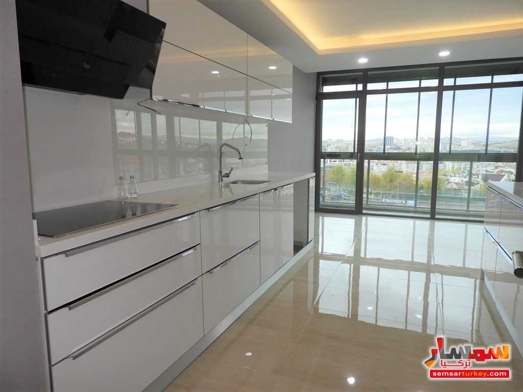 صورة 2 - 180 SQM 4+1 TERRAS BALCONY AND WINTER GARDEN FOR THE FLAT FOR SALE WITH HIGH CLASS FINISHING للبيع بورصاكلار أنقرة