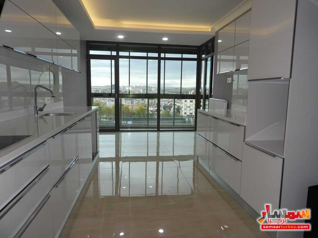 صورة 3 - 180 SQM 4+1 TERRAS BALCONY AND WINTER GARDEN FOR THE FLAT FOR SALE WITH HIGH CLASS FINISHING للبيع بورصاكلار أنقرة