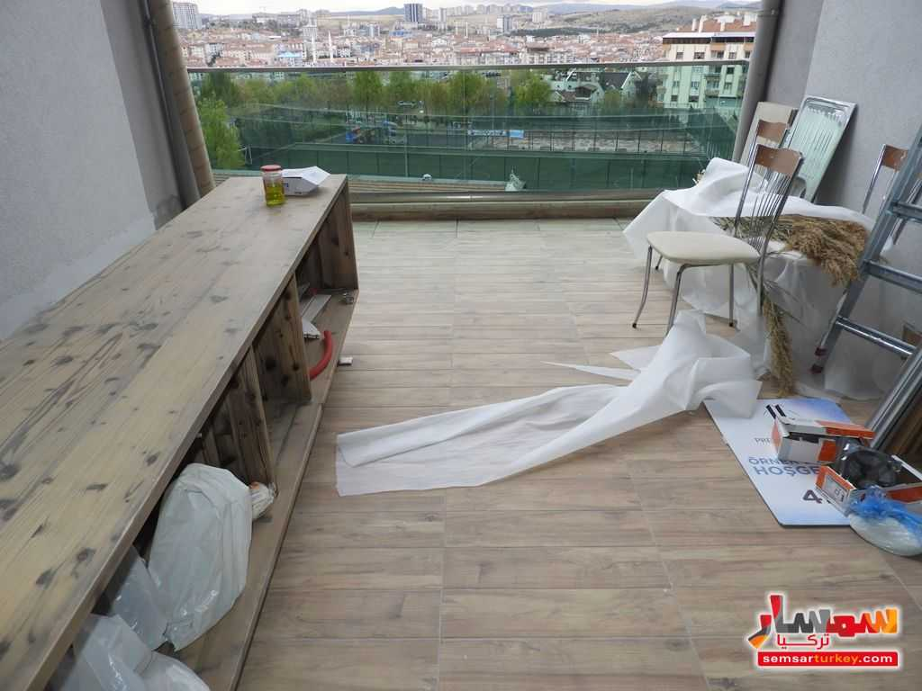 صورة 12 - 180 SQM 4+1 TERRAS BALCONY AND WINTER GARDEN FOR THE FLAT FOR SALE WITH HIGH CLASS FINISHING للبيع بورصاكلار أنقرة