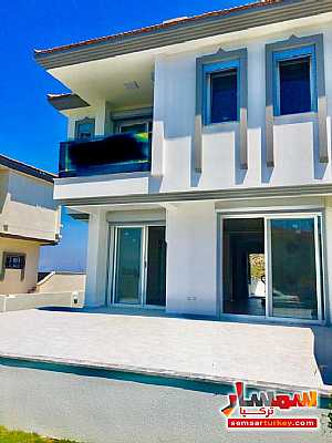 صورة الاعلان: 350 sqm land inside 150 sqm villa 4+1 super lux Next to sea shore في جاشمه إزمير