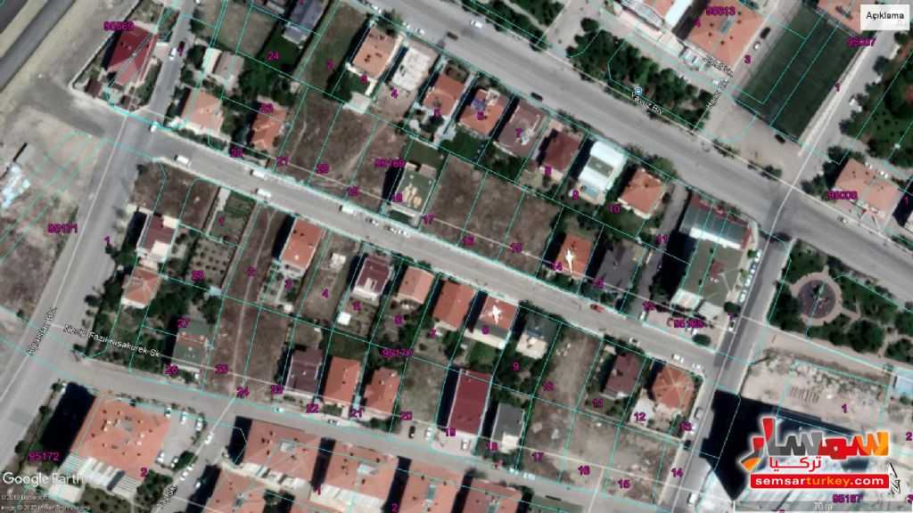 Ad Photo: 531 SQM VILLA LAND FOR SALE IN THE CENTER IN PURSAKLAR in Pursaklar  Ankara