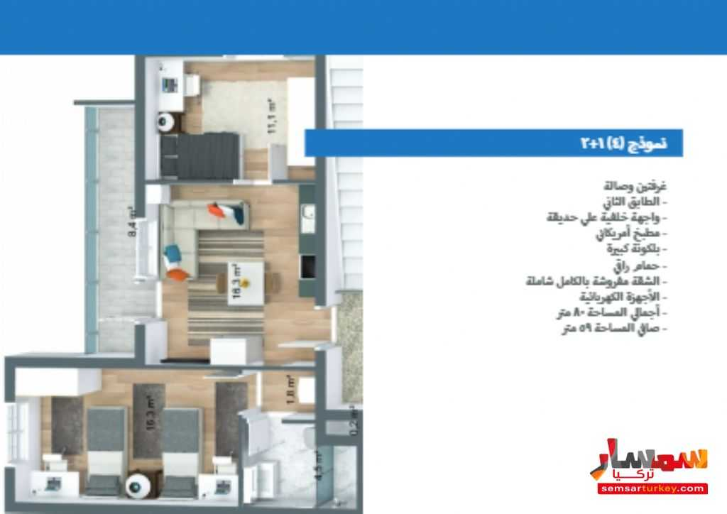 صورة 12 - 537 sqm 3 floor 9 apartments with furniture للبيع تشوبوك أنقرة