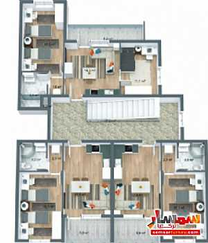 537 sqm 3 floor 9 apartments with furniture للبيع تشوبوك أنقرة - 14