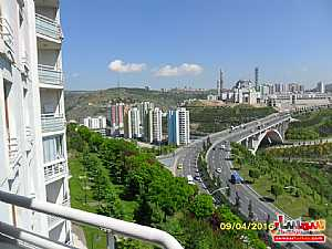 Apartment in Ankara 137 sqm 4+1 furnished extra super lux for sale للبيع كاجيورن أنقرة - 44